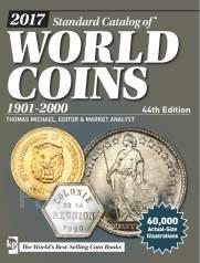 Каталог монет Standard Catalog of World Coins 1901-2000 44ed. (2017)