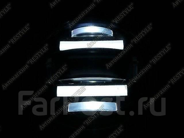 Диодные led туманки Toyota & Lexus с ДХО и линзой. Lexus: HS250h, GS350, LX460, LX450d, RX450h, RX350, RX270, GS250, IS F, GS450h, LX570 Toyota: iQ, A...