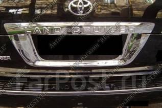 Накладка на дверь. Toyota Land Cruiser, URJ200, VDJ200, J200, URJ202, URJ202W Двигатели: 1URFE, 3URFE, 1VDFTV. Под заказ