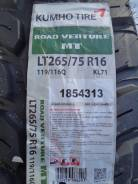 Kumho Road Venture M/T KL71. Грязь MT, 2016 год, без износа, 4 шт