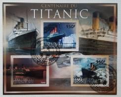 2011 Того. 100-летие гибели Титаника. Блок. Гашеный