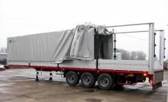 Grunwald. Полуприцеп бортовой тентованный Gr-TSSt (92 куба), 32 000 кг.
