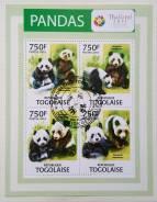 2012 Того. Панда. Блок. Гашеный