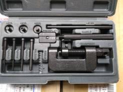 Инструмент для расклёпки/заклёпки цепи на мото