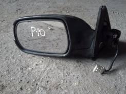 Зеркало заднего вида боковое. Nissan Primera, P10