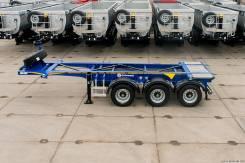 Grunwald. Полуприцеп-контейнеровоз Gr-VCSt 20 Ft, 34 100 кг.