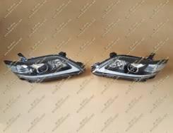 Тюнинг фары Lexus стиль + бег. поворот. Camry 40 (Камри) темные 09-11г.