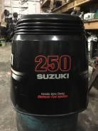 Suzuki. 250,00л.с., 4х тактный, бензин, нога X (635 мм), Год: 2010 год