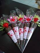 Подарок для сотрудников на 8 марта 23 февраля цветы