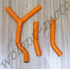 Шланги радиатора Оранжевый KTM 125SX/200SX 2003-2006 NWH3031