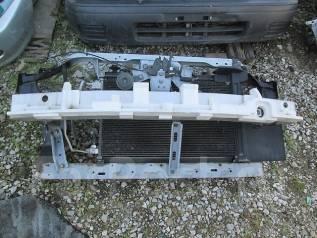 Рамка радиатора. Nissan Tiida, C11 Двигатель HR15DE