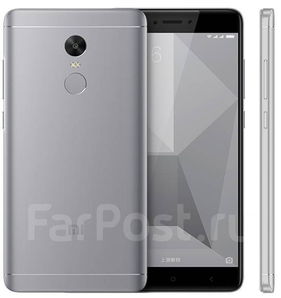 Xiaomi Redmi Note 4X. Новый, 32 Гб