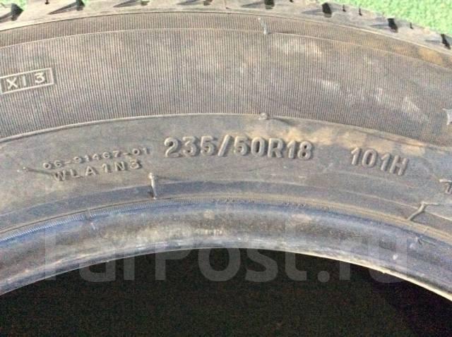 Michelin. Зимние, без шипов, 2012 год, износ: 5%, 2 шт