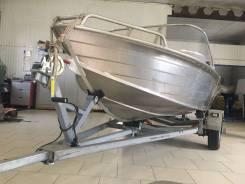 Wyatboat. Год: 2015 год, длина 4,30м., двигатель подвесной, 30,00л.с., бензин