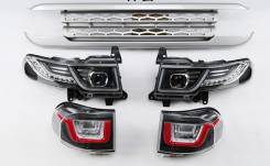 Комплект Оптики (Дизайн RR) Toyota Fj-Cruiser (J15) 2006-2018. Toyota FJ Cruiser, GSJ15. Под заказ