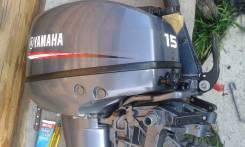 Yamaha. 15,00л.с., 2х тактный, бензин, нога S (381 мм), Год: 2013 год