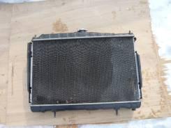 Радиатор охлаждения двигателя. Nissan Skyline, HR34 Двигатель RB20DE