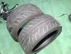 Dunlop Direzza ZII. Летние, 2012 год, износ: 40%, 2 шт