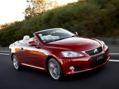 Аренда автомобиля кабриолет Lexus is 250c. С водителем