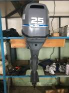 Yamaha. 25,00л.с., 4х тактный, бензин, нога L (508 мм), Год: 2005 год