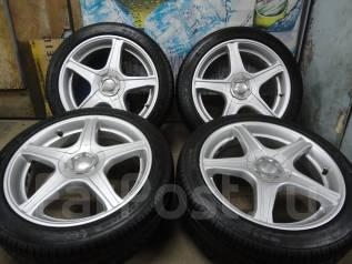 Продам Отличные Стильные колёса Zailer+Лето Жир215/45R17Toyota, Subaru,. 7.0x17 5x100.00, 5x114.30 ET48