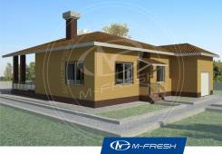M-fresh Little house. 100-200 кв. м., 1 этаж, бетон
