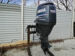Yamaha. 100,00л.с., 4х тактный, бензин, нога L (508 мм), Год: 2006 год