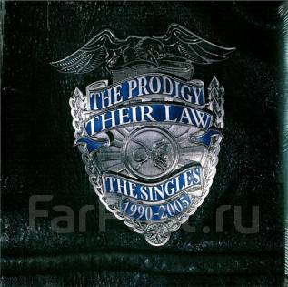 Винил. The Prodigy Their Law: The Singles 1990-2005 2LP Delux, LTD UK