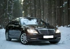 Аренда Mercedes W221 S500 Long в Минске с водителем.