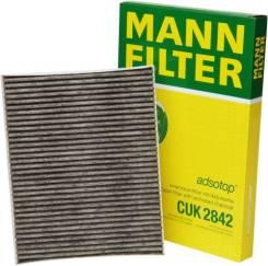Фильтр салонный угольный CUK2842 mann CUK2842 в наличии