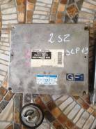 Блок управления. Toyota Vitz, SCP13 Двигатель 2SZFE