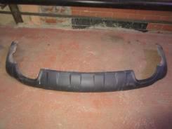 Накладка на бампер. Hyundai Santa Fe