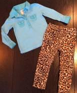 Фирменные вещи H&M на девочку. Рост: 86-98 см