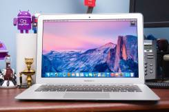 "Apple MacBook Air. 13"", 1,6 ГГц, ОЗУ 4096 Мб, диск 128 Гб, WiFi, Bluetooth, аккумулятор на 12 ч."