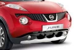 Декоративная накладка на передний бампер Nissan Juke оригинал