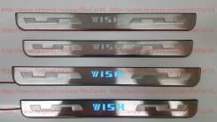 Накладка на порог. Toyota Wish, ZGE20G, ZGE20W, ZGE22W, ZGE21G, ZGE25G, ZGE25W