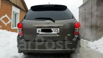 Спойлер. Toyota Corolla Fielder, NZE141, NZE141G