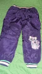 Тёплые штаны. Рост: 98-104 см