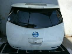 Дверь багажника. Nissan Leaf