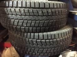 Dunlop SP Winter ICE 01. Зимние, шипованные, износ: 10%, 2 шт