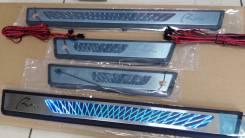 Накладка на порог. Toyota RAV4, ASA44L, ASA42, ASA44, ALA49L, XA40