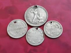 Лот нечастого серебра № 2. Монеты с монисты.