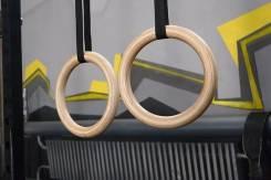Гимнастические кольца деревянные