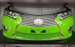 Передний бампер (Дизайн Lexus) Toyota Corolla (E180) 2013-2016.