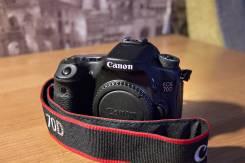 Canon EOS 70D Body. 20 и более Мп, зум: 14х и более