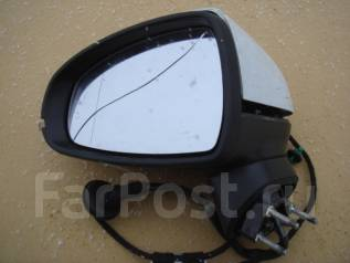Зеркало заднего вида боковое. Audi A1, 8X1, 8XA Двигатели: CNVA, CAXA, CBZA