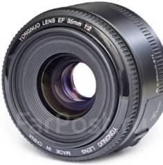 Объектив Yongnuo EF 35mm f/2 для Canon. Для Canon, диаметр фильтра 52 мм. Под заказ