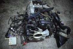 Двигатель. Nissan Stagea, WGNC34 Двигатель RB25DET
