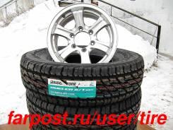 Грязевые шины и диски на внедорожник 235 85 R16 Bridgestone, Weds. 7.0x16 6x139.70 ET26 ЦО 110,0мм.