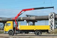 Камаз 4308. с манипулятором Fassi F85, 6 700 куб. см., 5 000 кг. Под заказ